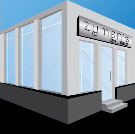 Zymen storefront display page link.