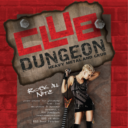 Club Dungeon banner display page link.