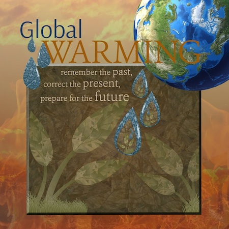 Global Warming interactive ad page link.