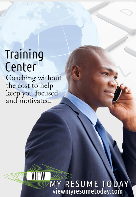 View My Resume Today Training Center magazine ad.